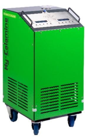 Station de décalaminage • Hy-Carbon 1000S - Machine de décalaminage moteur par injection d'hydrogène