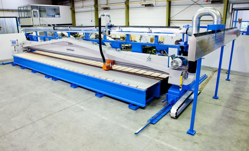 Large Surface Grinding - Long Belt Grinding Machine Type LBS