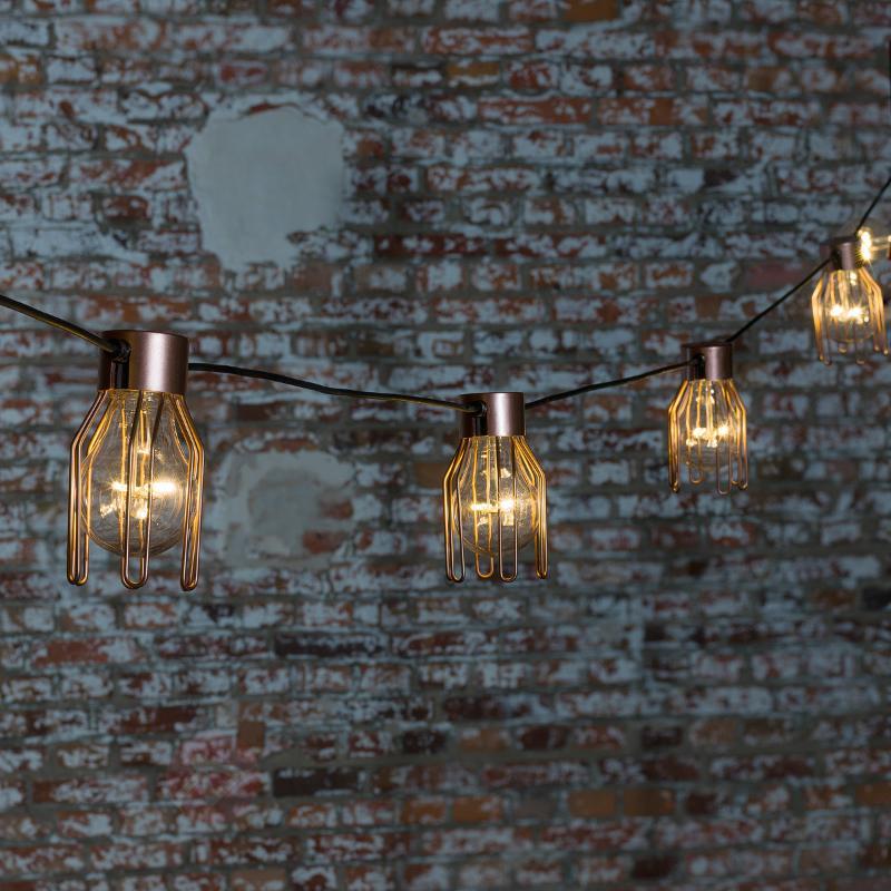 Protection pour guirlande Biergarten par 5 - Accessoires lampes d'extérieur