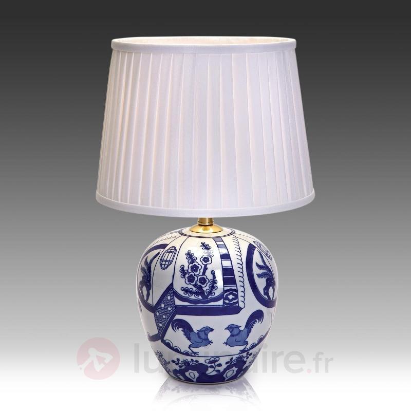 Göteborg - lampe à poser pleine de style 45 cm - Lampes à poser classiques, antiques