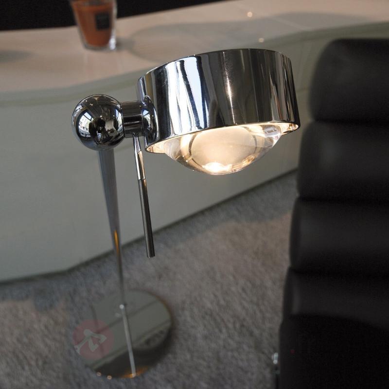 Lampadaire orientable PUK FLOOR avec lentille - Lampadaires design