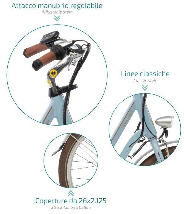 World Dimension ROSE - Bicicletas Eléctricas
