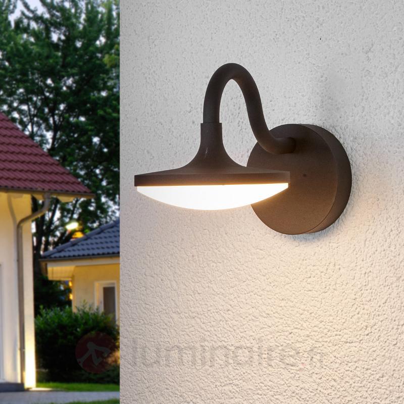 Applique d'extérieur LED arquée Finny - Appliques d'extérieur LED