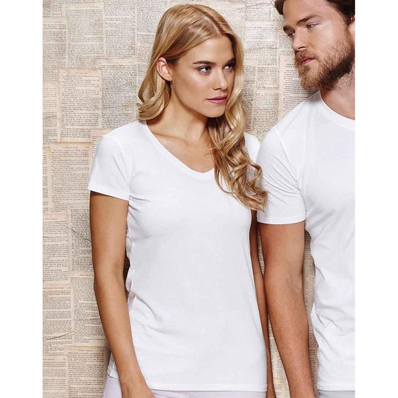 Tee-shirt col V - Manches courtes