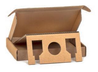 Verpackungen aus Pappe/Karton - Stanzverpackung aus Wellpappe