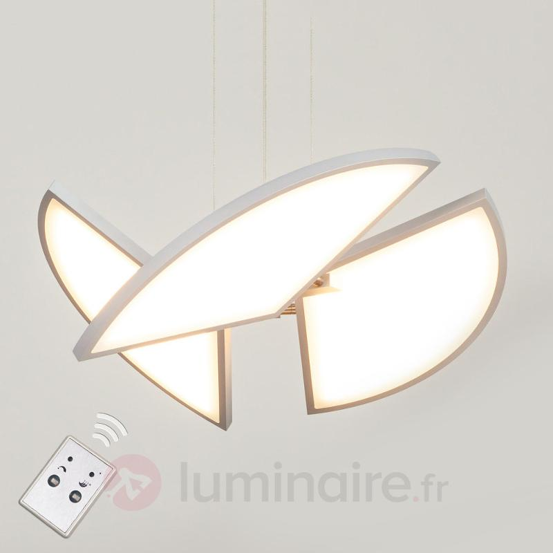 Suspension LED futuriste Aurela - Suspensions LED