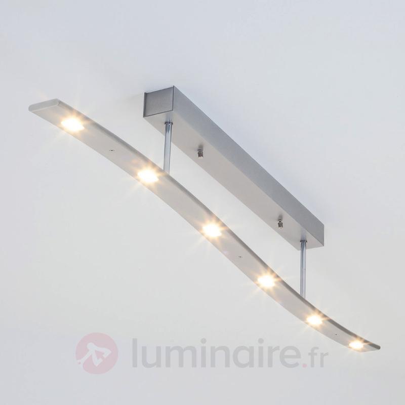 Plafonnier LED Xalu de forme ondulée - Plafonniers LED