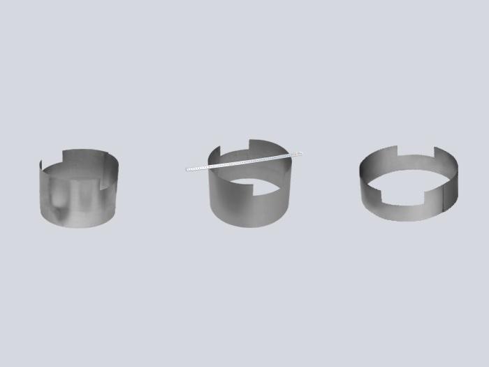 Tungsten coiling block