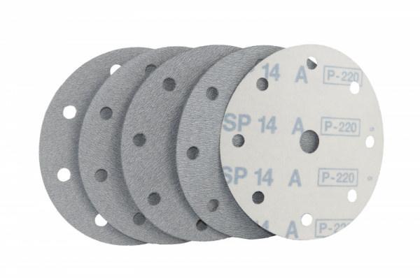 Schleifscheibe für Holz / Fußboden, Lack / Farbe SP14A Klett - Körnungen: P220, P240, P280, P320, P400