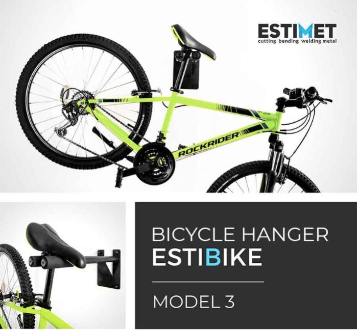 Bicycle hangers - ESTIBIKE - 4 models of ESTIBIKE bike carriers