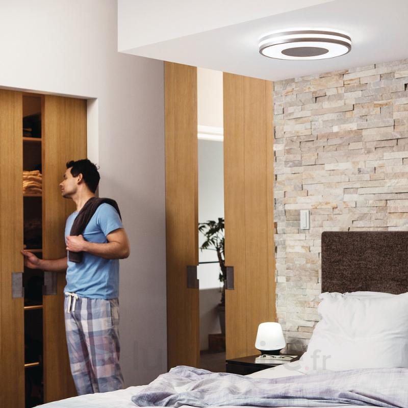 Plafonnier LED Philips Hue Being avec variateur - Philips Hue