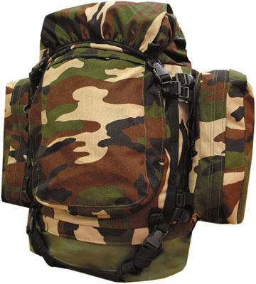 Equipements / Bagagerie Bagagerie - SAC A DOS GM CAMO ARMATURE METAL (MR)
