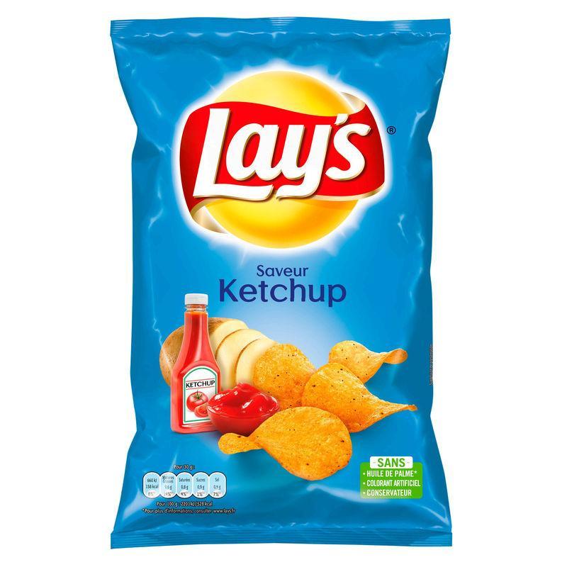 Chips Ketchup 130g - LAY'S - Chips Ketchup 130g - LAY'S