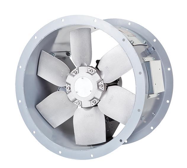 BTFM - Industrie Rohr-Druckventilator