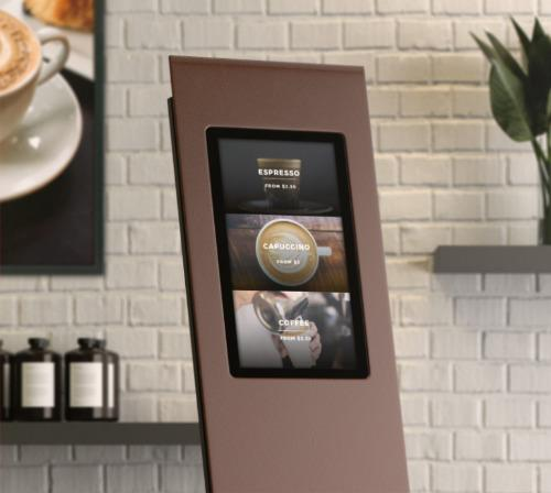 Mood Interactive Kiosk - A self-service kiosk suited for check-in, ticket dispensing and more!
