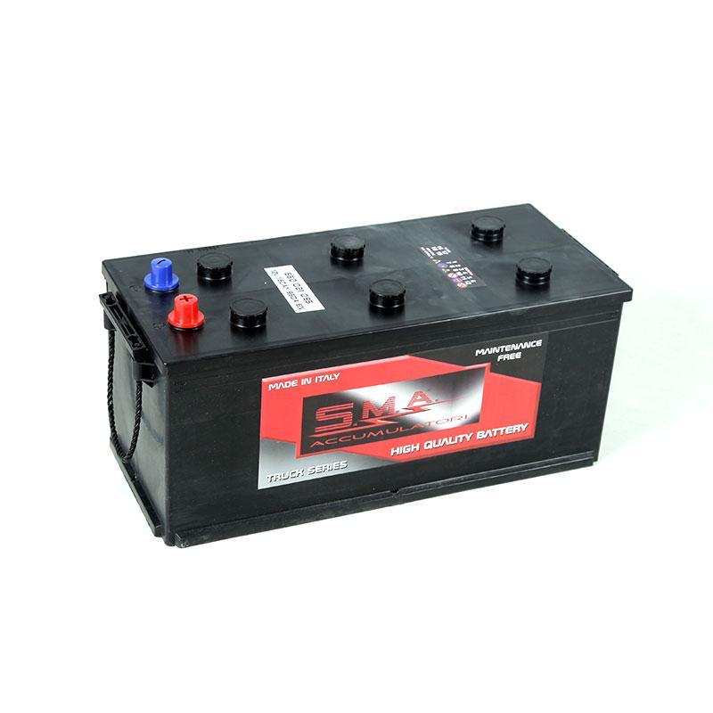 Batteria Autocarro MAC 150Ah destra - Batterie per Camion di Alta Qualità