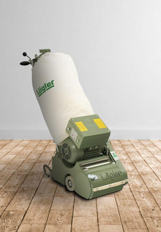 ELF - Drum sanding and milling  machine for wooden surfaces.
