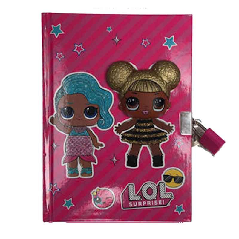Wholesaler personal diary kids LOL - Stationery