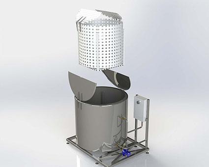 Maquina de Termoterapia - Água Quente  - Tratamento de Termoterapia para Videiras