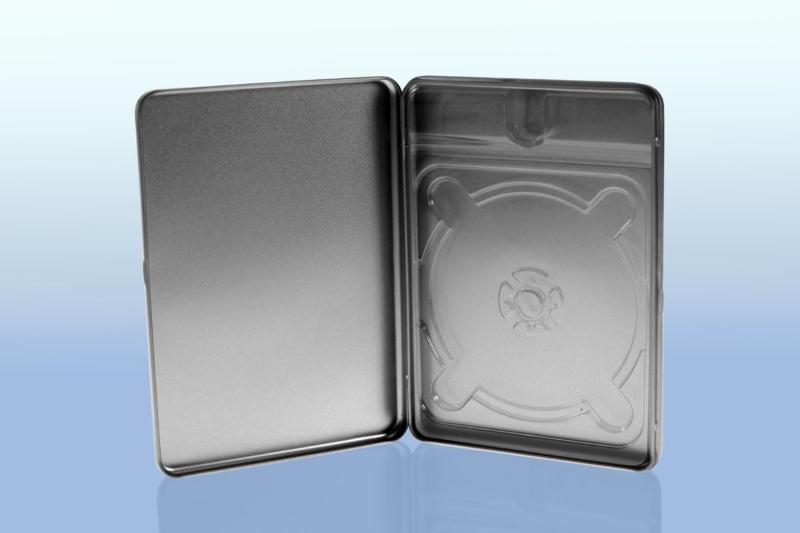 Metalldose im Standard DVD Format für 1 Disc - Metalldosen