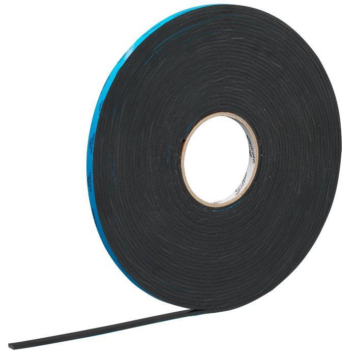 Glazing Tape - Glazing tape for elastic sealants, e.g. sealing of glass rebates