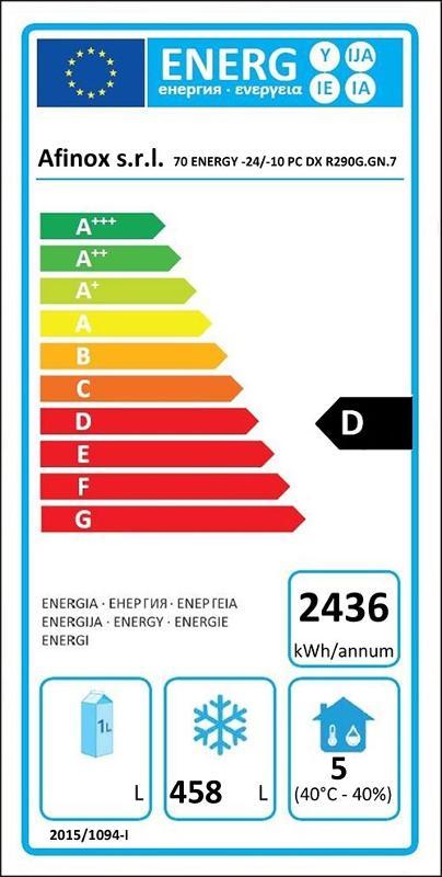 Energy Gelateria 700 - null