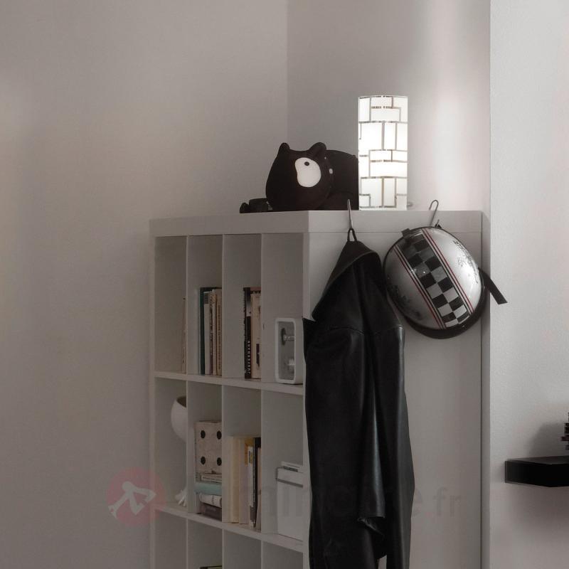 Lampe à poser cylindrique Bayman - Lampes de chevet