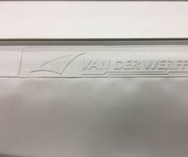 Keder in farbe grau - Doppel seitig PVC Keder