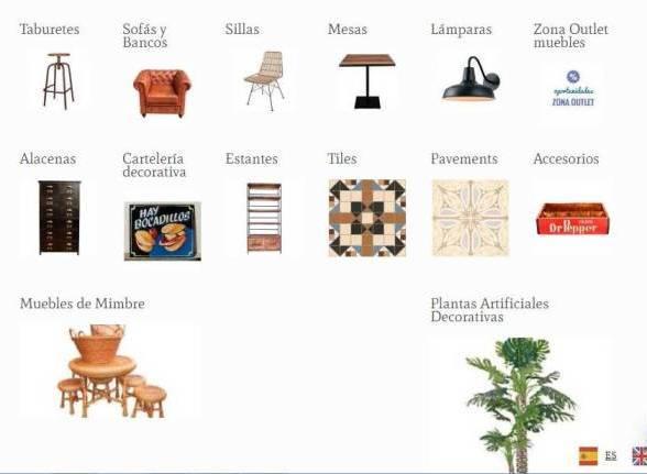 Mobiliario  de Hostelería - Venta Online de Mobiliario de Hostería y Complementos