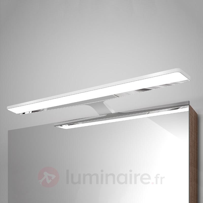 Applique pour miroir LED blanche Nayra - Salle de bains et miroirs