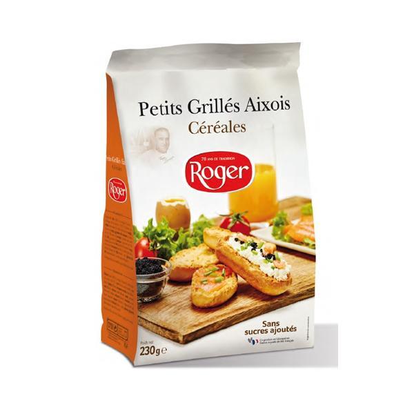 "Crackers ""Petits Grillés Aixois"" - Rusks & Toast breads"