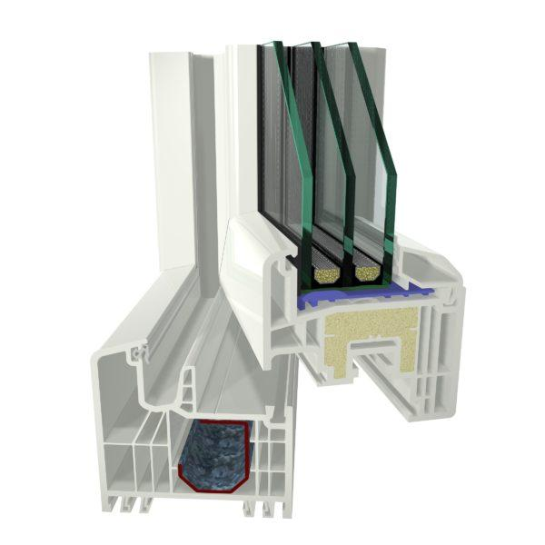 pvc-windows gealan s7000-iq-plus - pvc-joinery