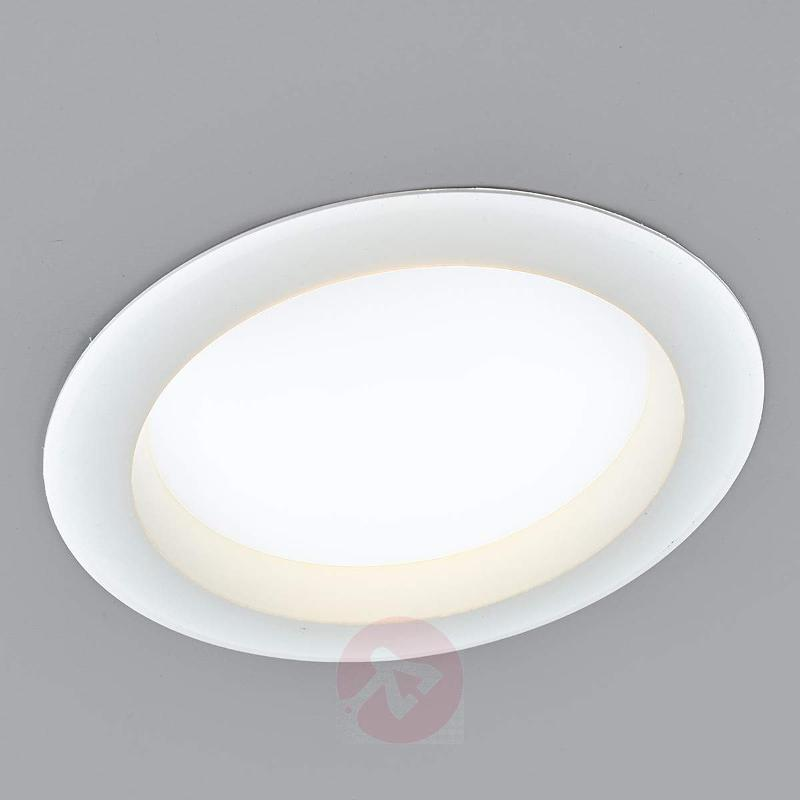 LED recessed ceiling light Arian, 17.4 cm, 15 W - Recessed Spotlights