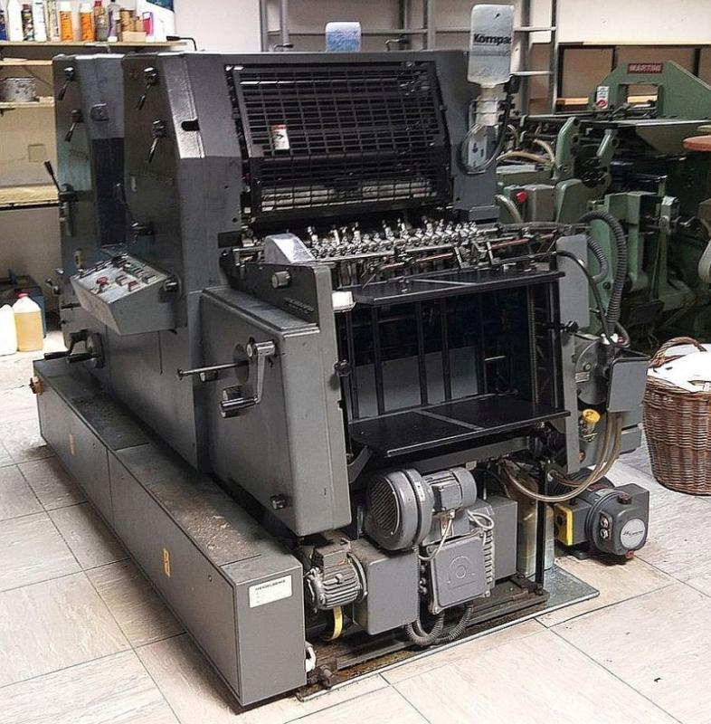 Heidelberg GTO ZP 52 - Used Machine
