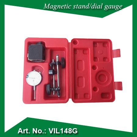 Magnetic stand and dial gauge set - MEASURING INSTRUMENTS