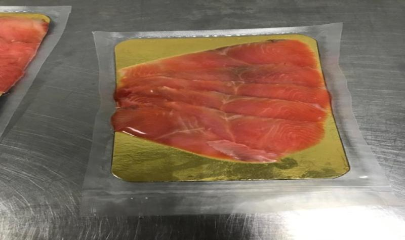 Pink salmon Lightly salted fillet-slicing 100g - LIGHTLY SALTED PRODUCTS