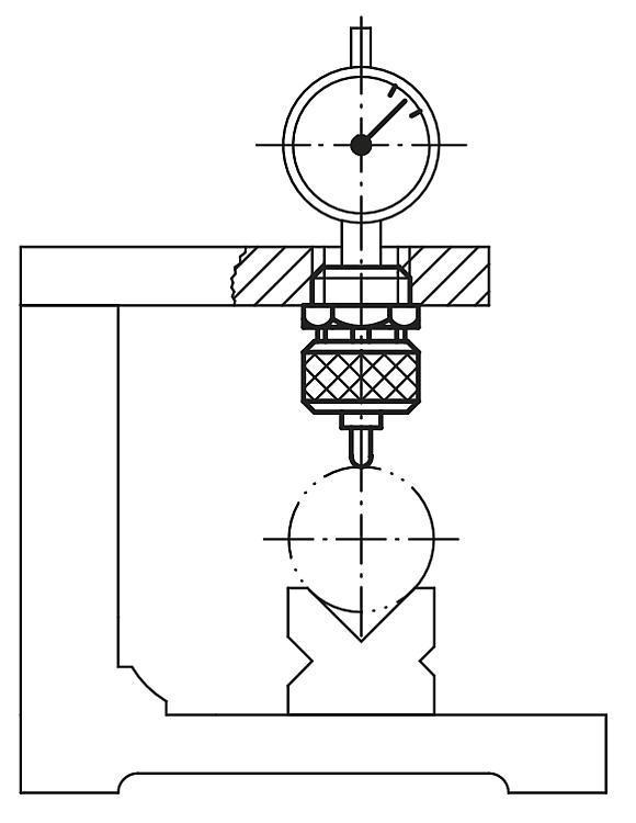 Pince pour comparateur pour axe ø 8 - Eléments pour montage de contrôle