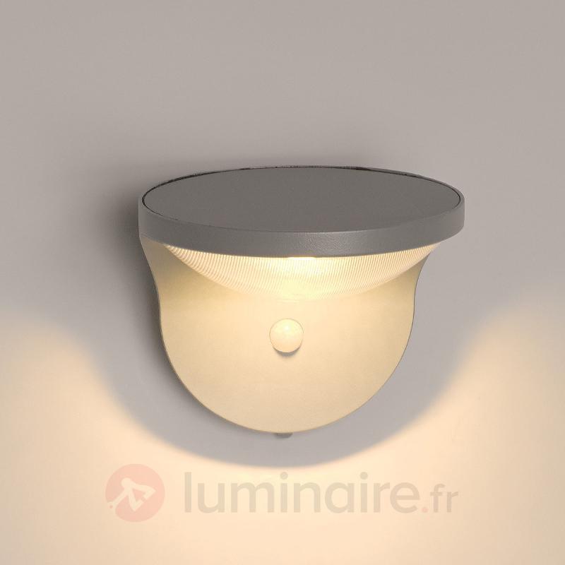 Applique d'extérieur solaire LED Dusk à détecteur - Lampes solaires avec détecteur