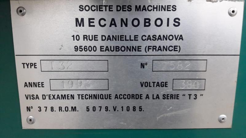 TOUPIE SCIE MECANOBOIS - Bois Référence : 2197