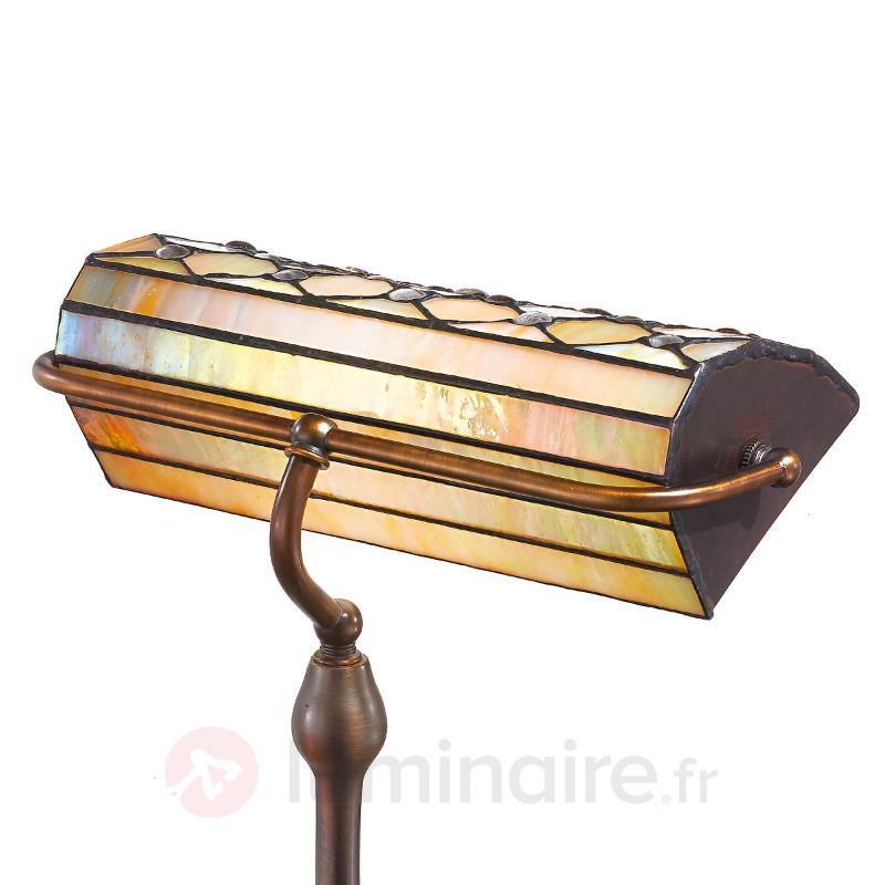 Lampe à poser Sezilia nacrée - Lampes à poser style Tiffany
