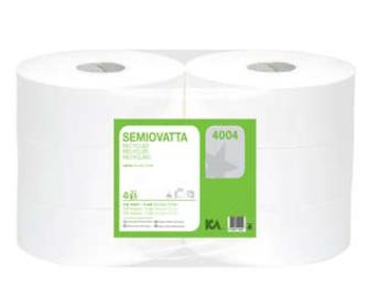 4004 - carta igienica maxi jumbo - in ovatta ecologica liscia