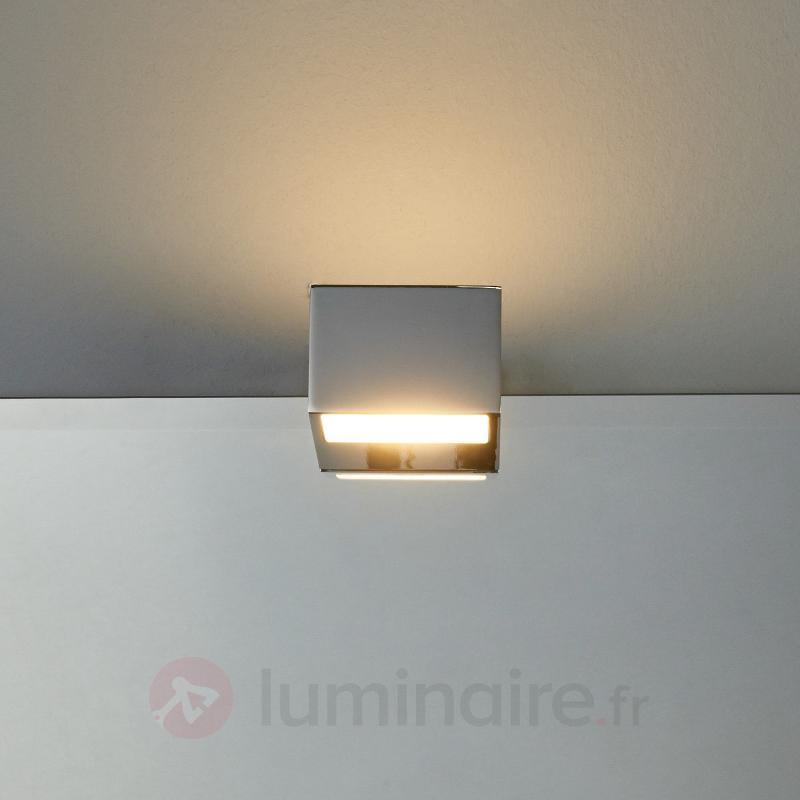 Lampe de miroir Cosmin avec LED, IP44 - Salle de bains et miroirs