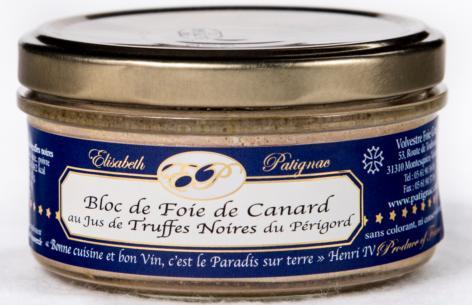 Bloc de Foie Gras au jus de Truffes Noires du Périgord - Viande et volailles