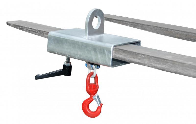 Crochet porte charge type LH - Prise et transport de lourdes charges en toute sécurité