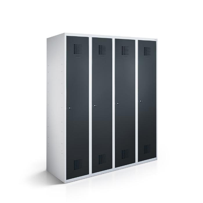 Lockers - perfect for changing rooms - with 1-4 compartments