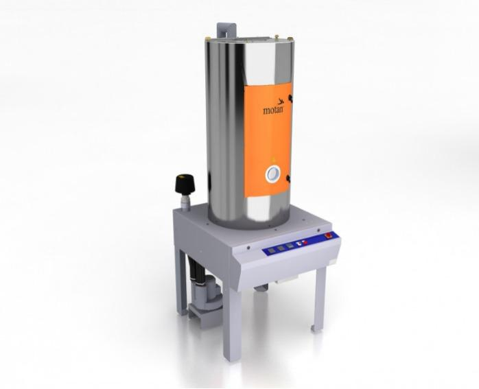 Secador de aire caliente  - LUXOR HD - Secado por aire caliente, tolva de secado, secado de gránulos