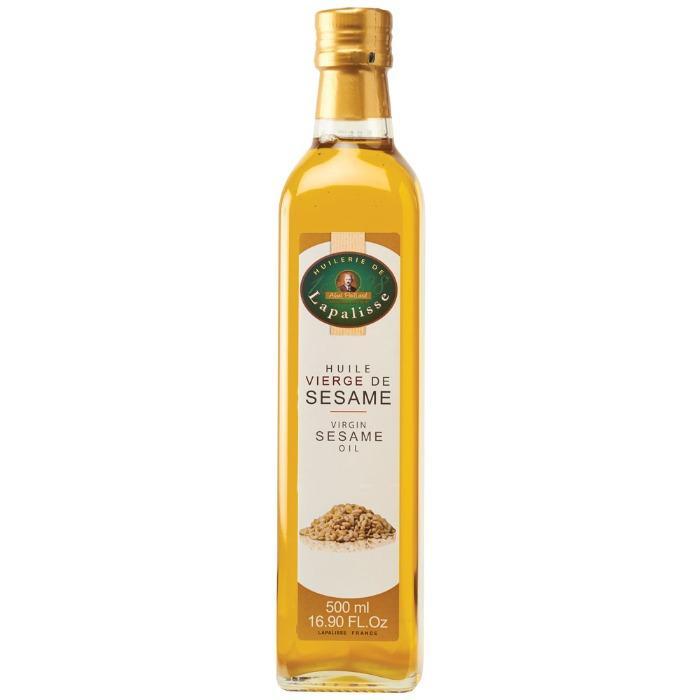 De Lapallise Geroosterde France Sesam Olie 500 - Biologisch Sesamolie