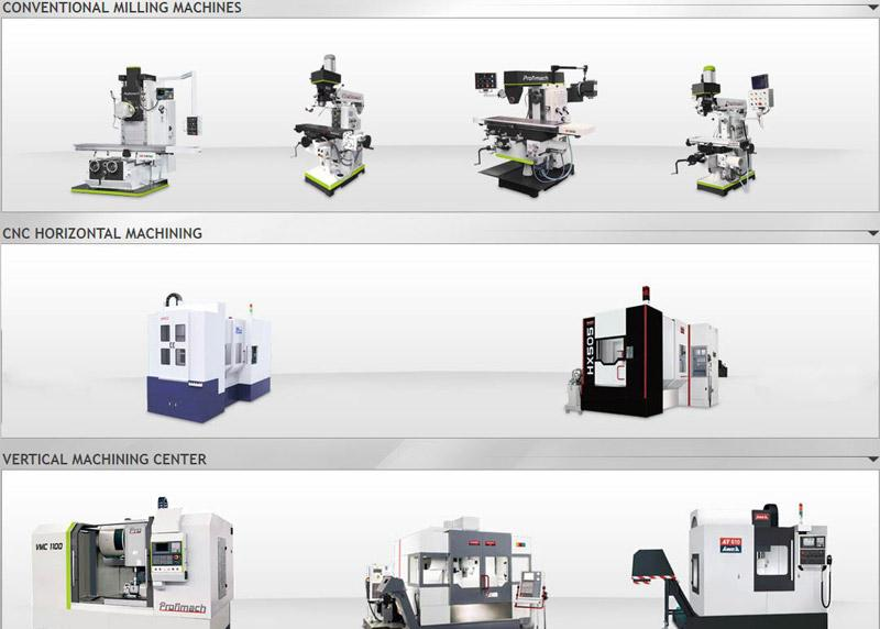 MILLING MACHINES - CNC, CONVENTIONAL, HORIZONTAL, VERTICAL,BED TYPE, etc.