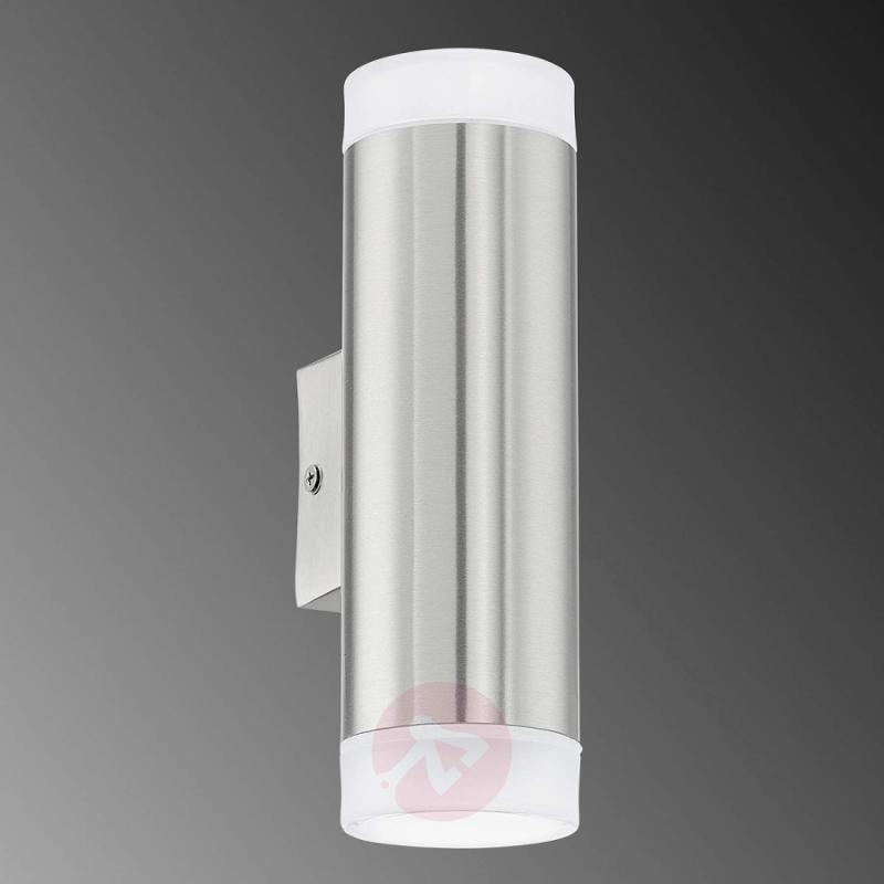 Riga Up Down LED Outside Wall Light - stainless-steel-outdoor-wall-lights