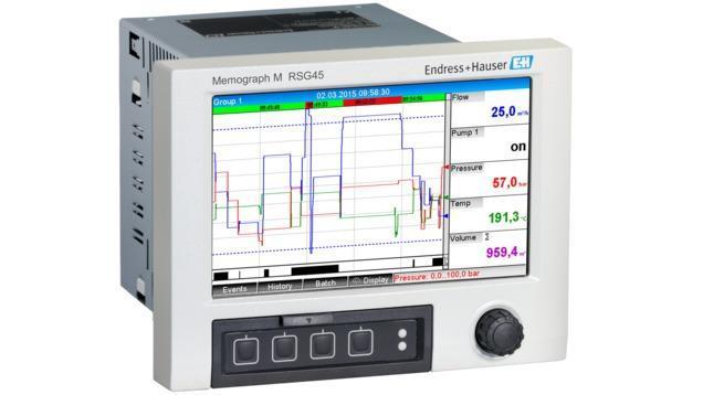 composants systeme enregistreur datamanager - memograph RSG45 enregistreur graphique